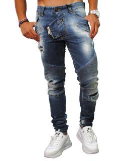 Jeans Boragio bleu - 7472