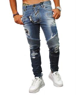 Jeans Boragio bleu - 7342