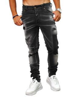 Jeans Boragio noir - 7458