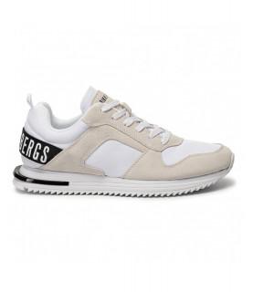 Sneakers Bikkembergs blanc - B4BKM0028 HECTOR