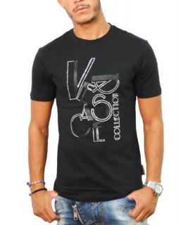 Tshirt Versace Collection noir - V800862B VJ00628