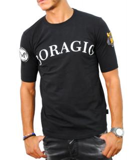 Tshirt Boragio noir - 7335